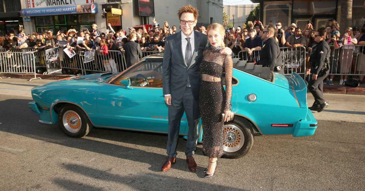James Gunn Ego's Car Guardians of the Galaxy 2