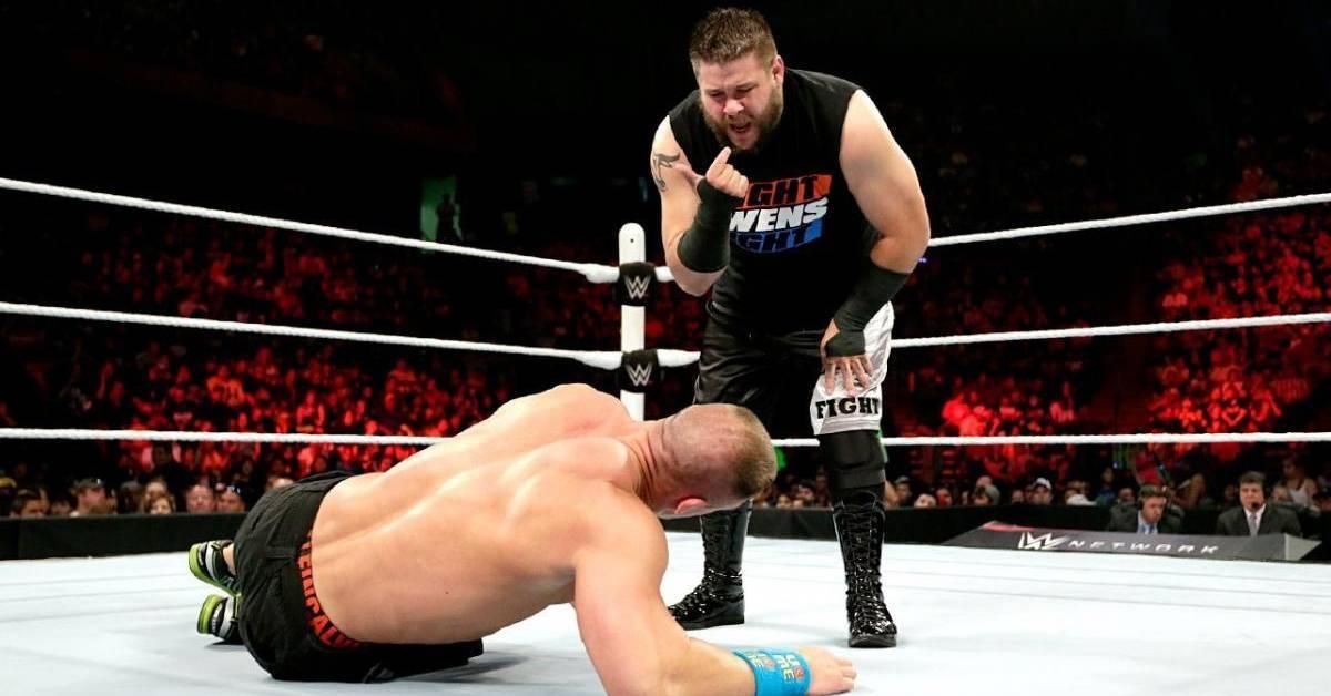 John Cena Kevin Owens Elimination Chamber WWE