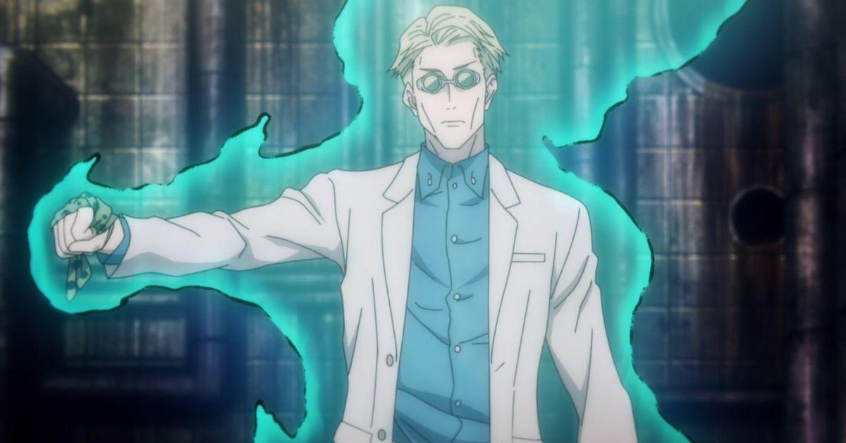 Jujutsu Kaisen Nanami Kento Anime
