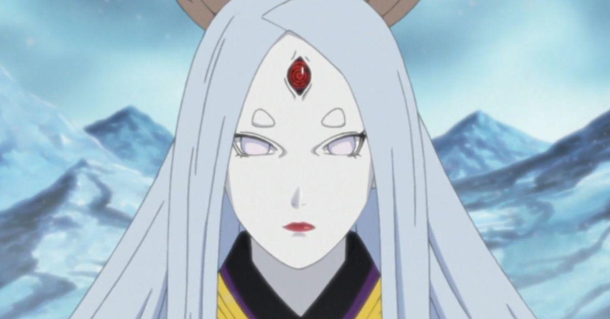 Kaguya Otsutsuki Naruto Anime