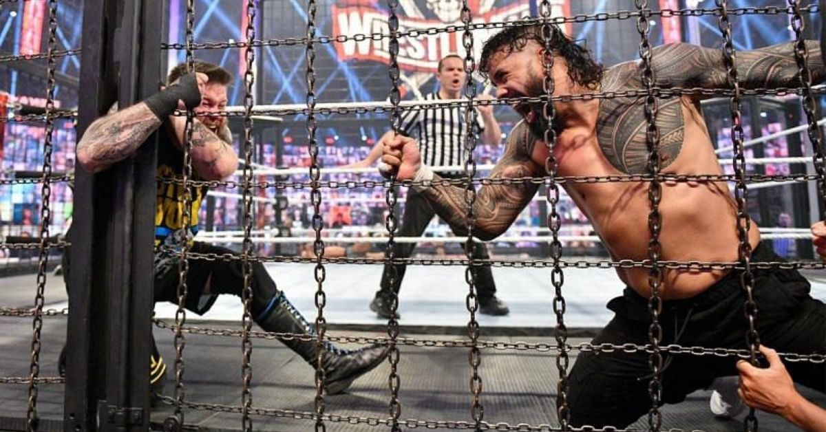 Kevin Owens Jey Uso WWE Elimination Chamber