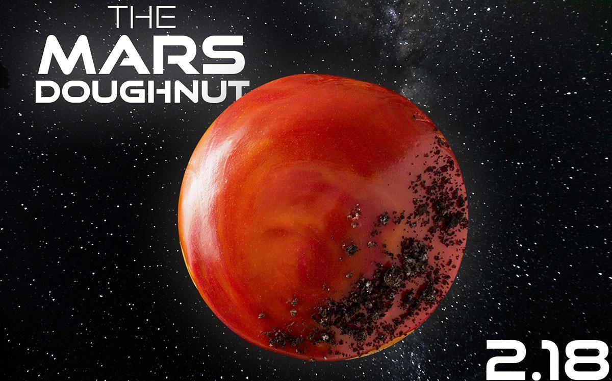 krispy kreme the mars dougnut