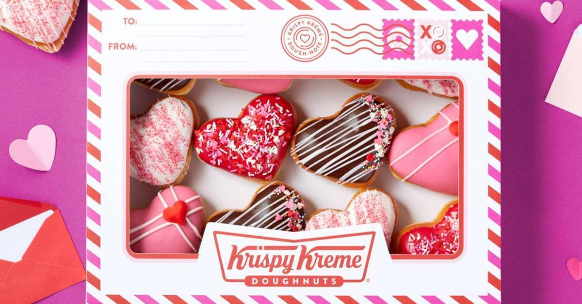 krispy kreme valentines day