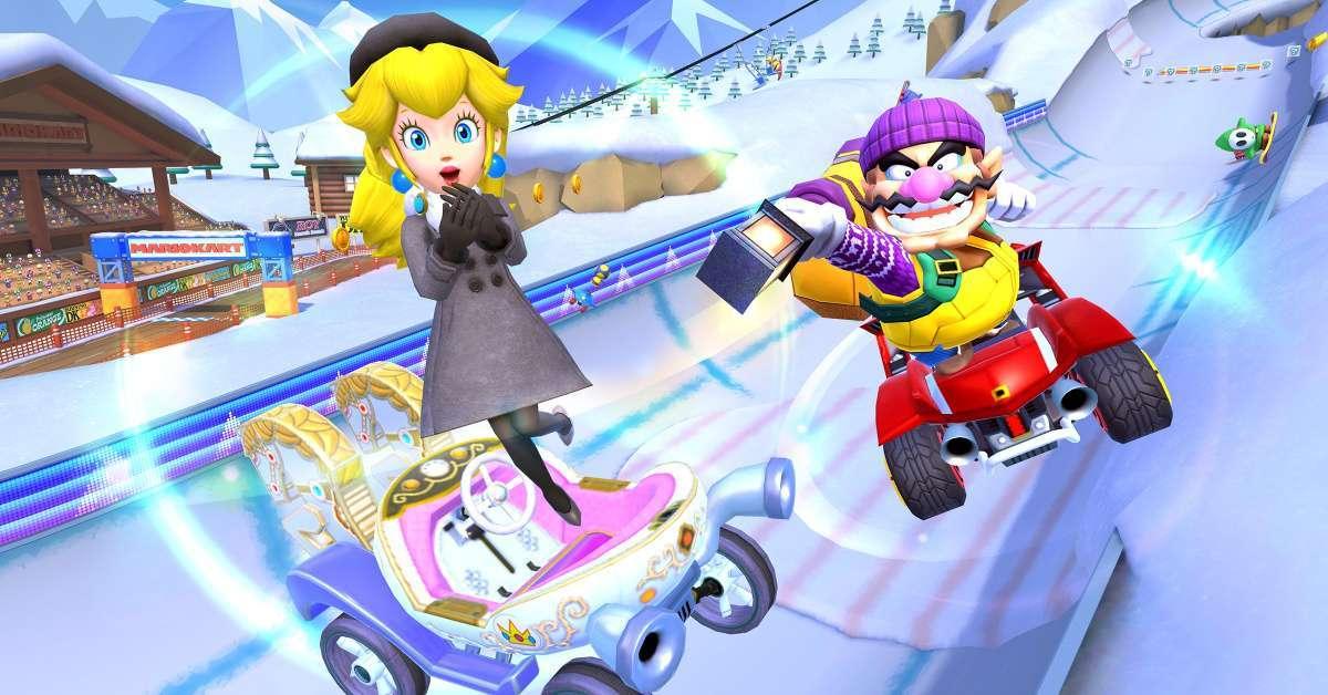 Mario Kart Tour Snow