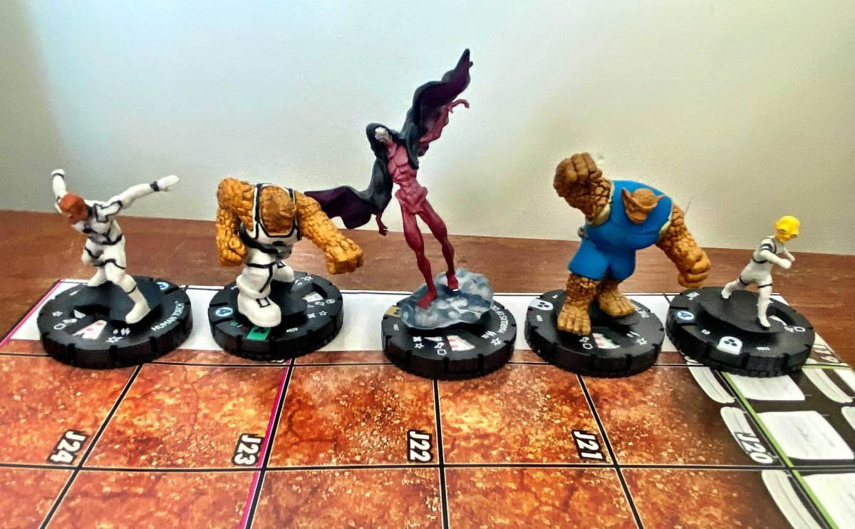 Marvel Fantastic Four Future Foundation HeroClix 007