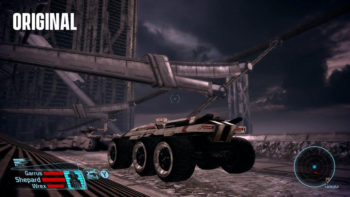 Mass Effect Feros Old