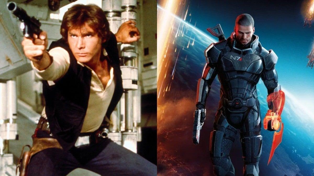 Mass Effect Han Solo