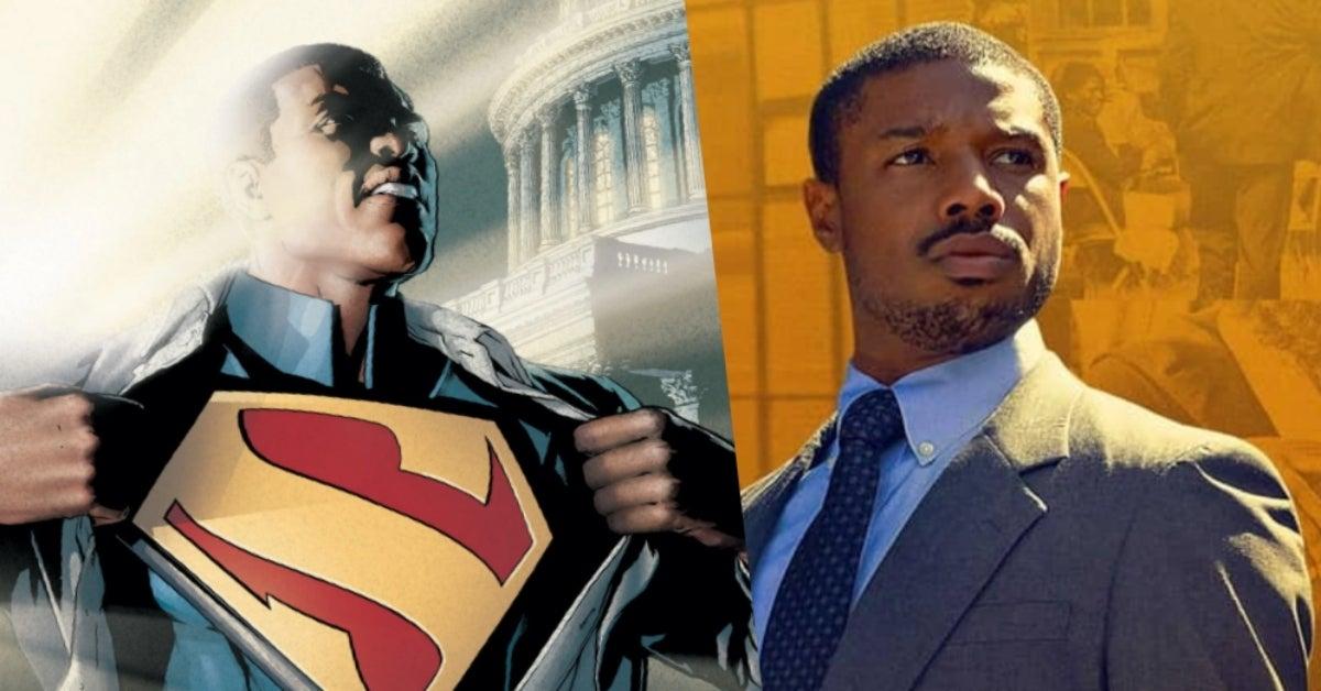 Michael B Jordan Calvin Ellis Superman