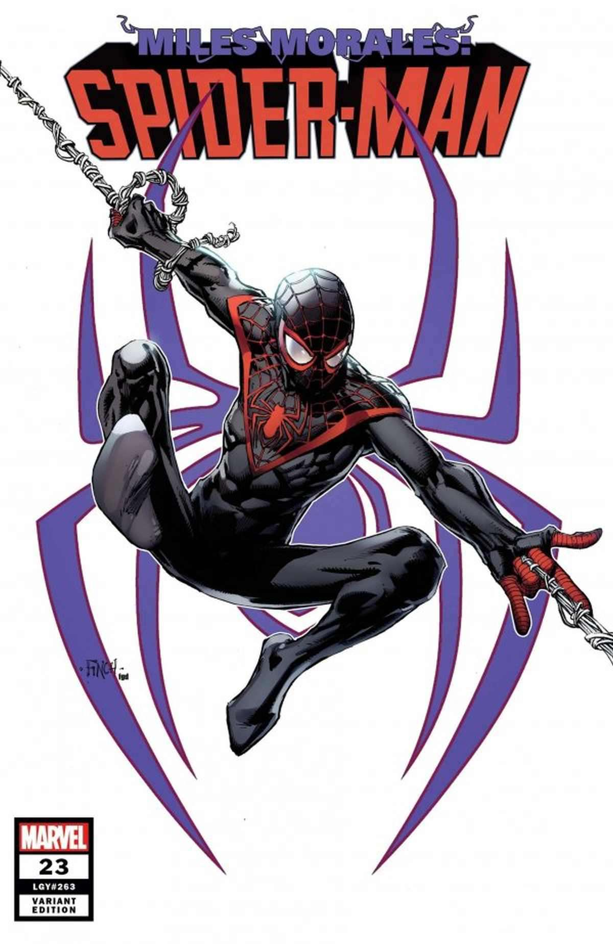 Miles Morales Spider-Man 23 Preview 001