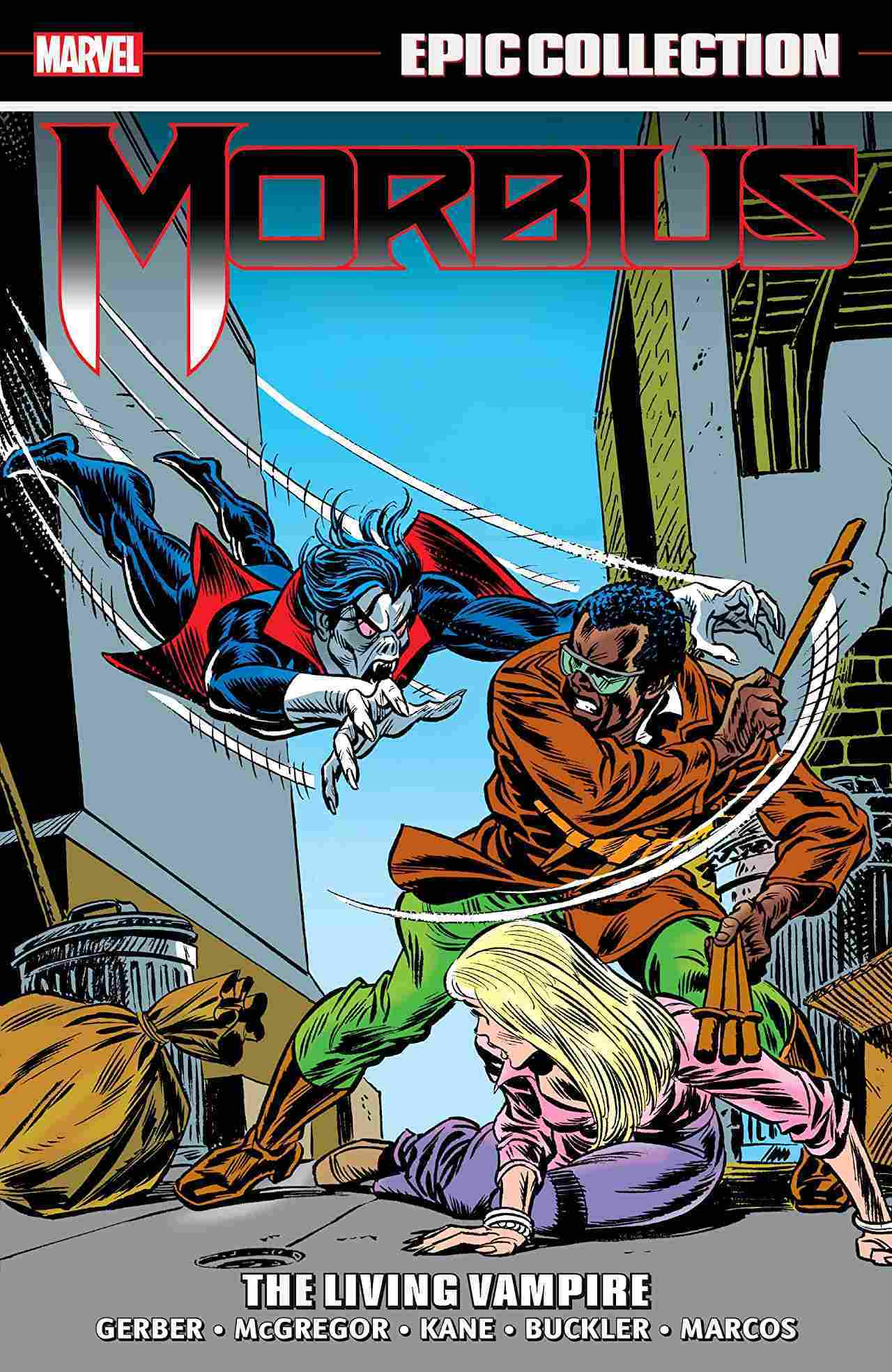 Morbius Epic Collection The Living Vampire