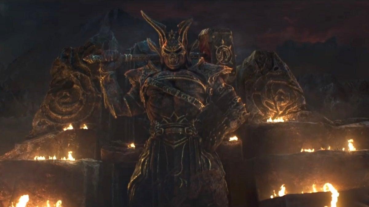 Mortal Kombat Movie Shao Kahn