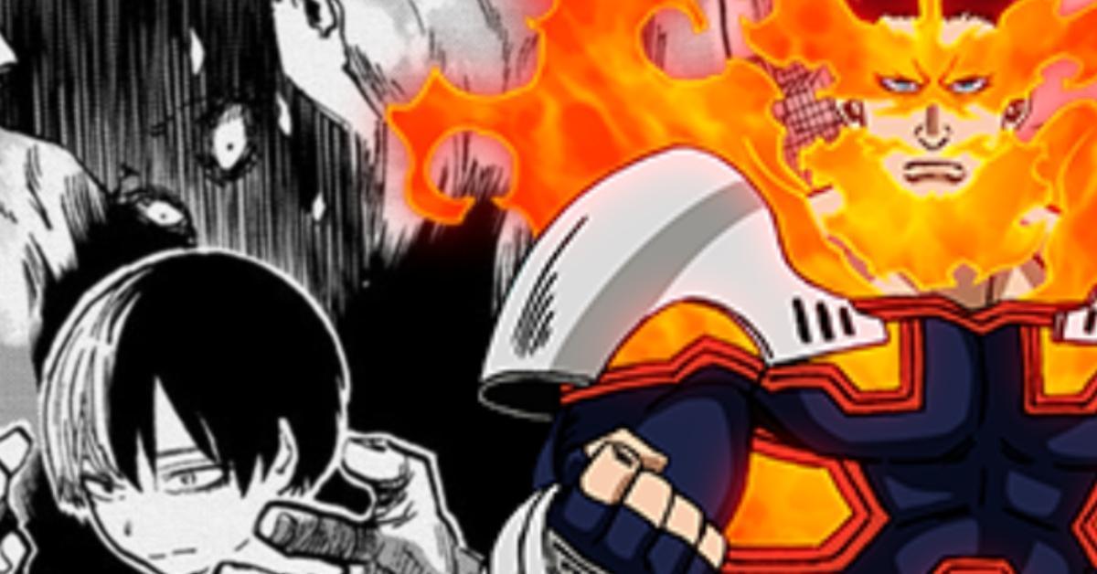 My Hero Academia Endeavor Abuser Shoto Disturbing Spoilers Manga