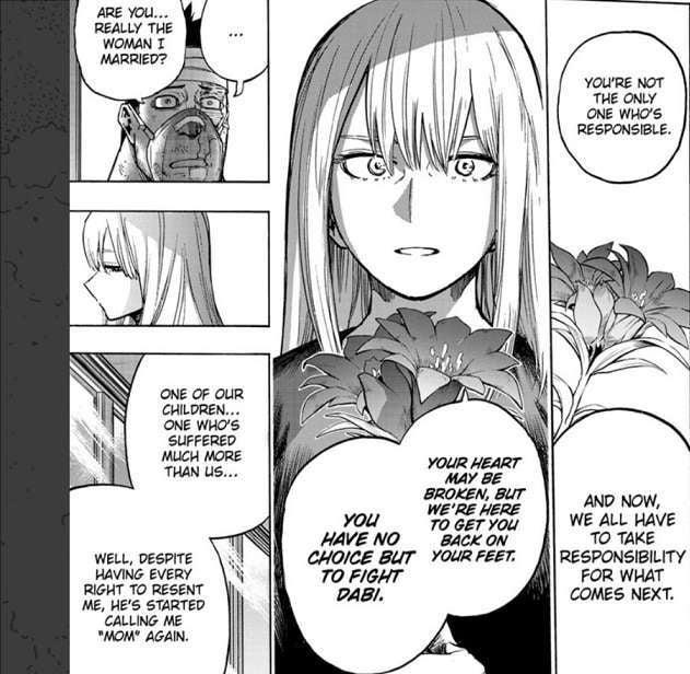 My Hero Academia Todoroki Guilt