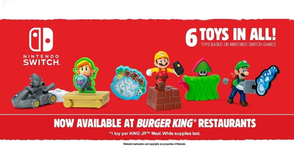 nintendo burger king toys