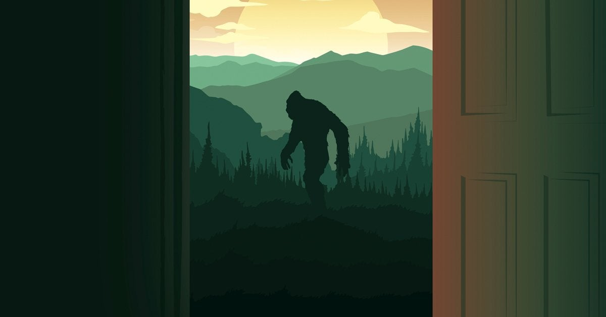 on the trail of bigfoot poster header