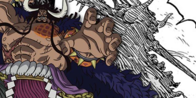 One Piece Cliffhanger Kaido Man Beast Form Tease Spoilers Manga