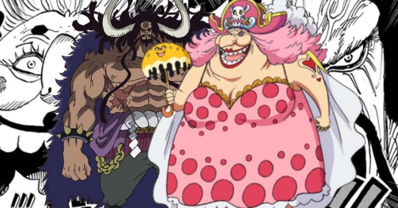 One Piece Kaido Big Mom