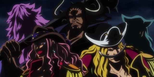 One Piece Rocks Pirates Anime
