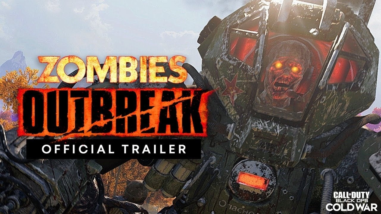 outbreak trailer zombies call of duty