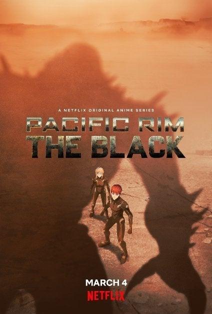 Pacific Rim The Black Netflix Anime Poster