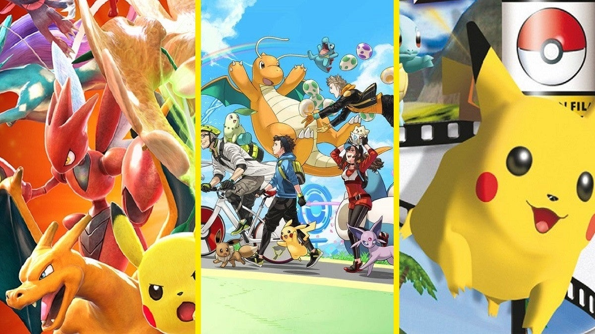 Pokemon Spin-Off Games