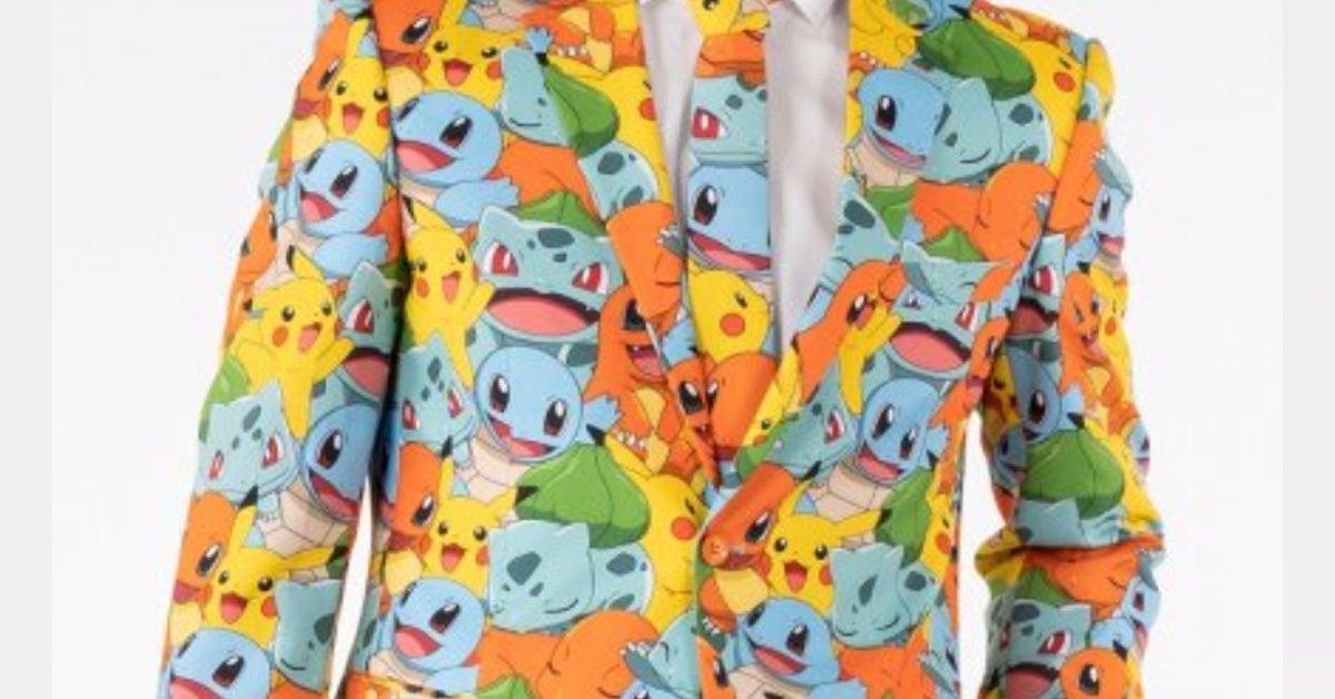pokemon suit