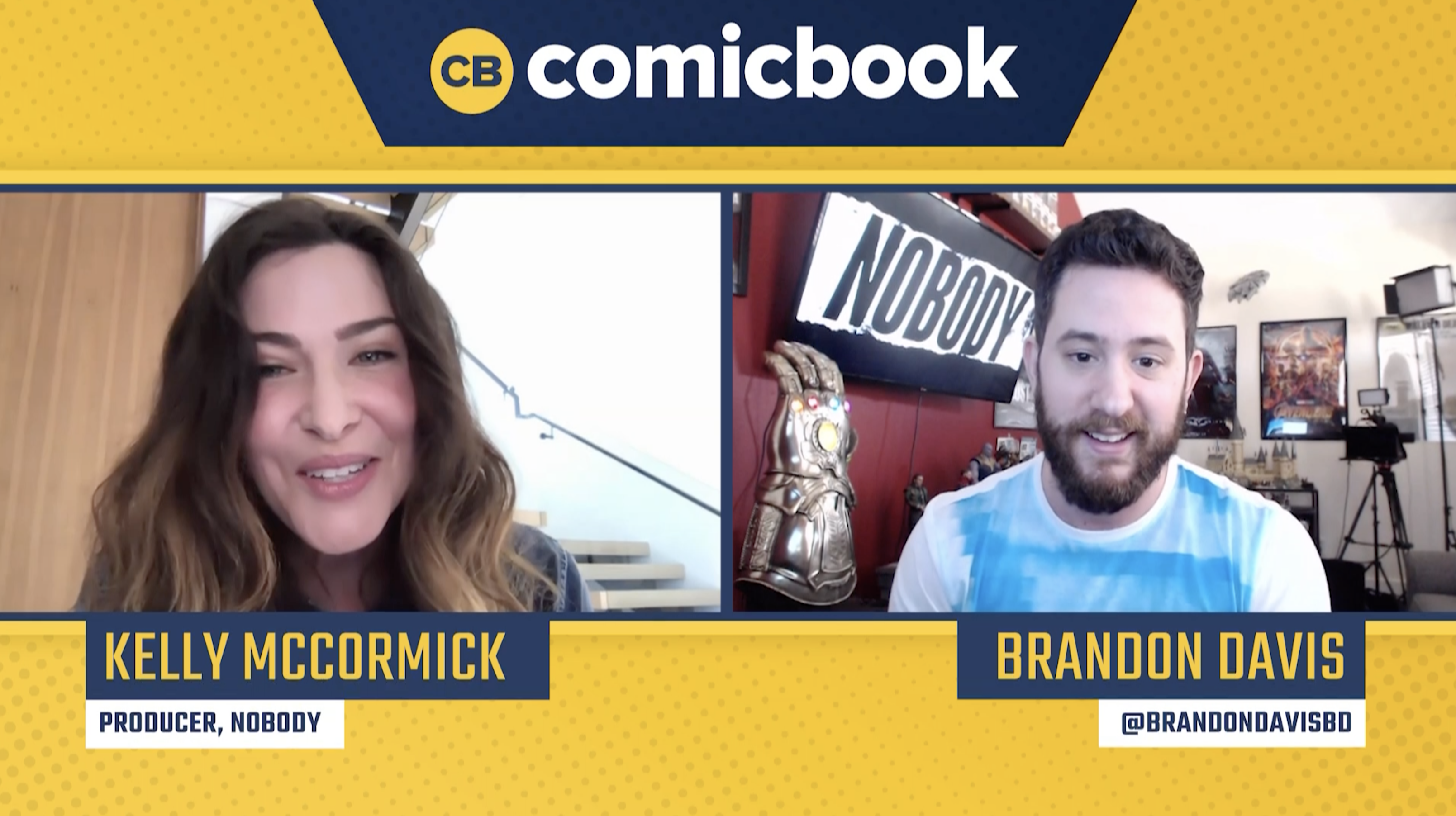 Producer Kelly McCormick Talks Nobody - Exclusive Comicbook.com Interview