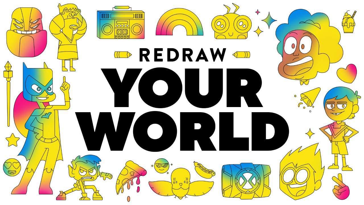Redraw Your World_key art