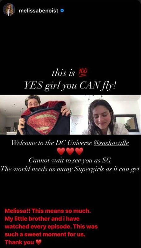sasha calle melissa benoist supergirl