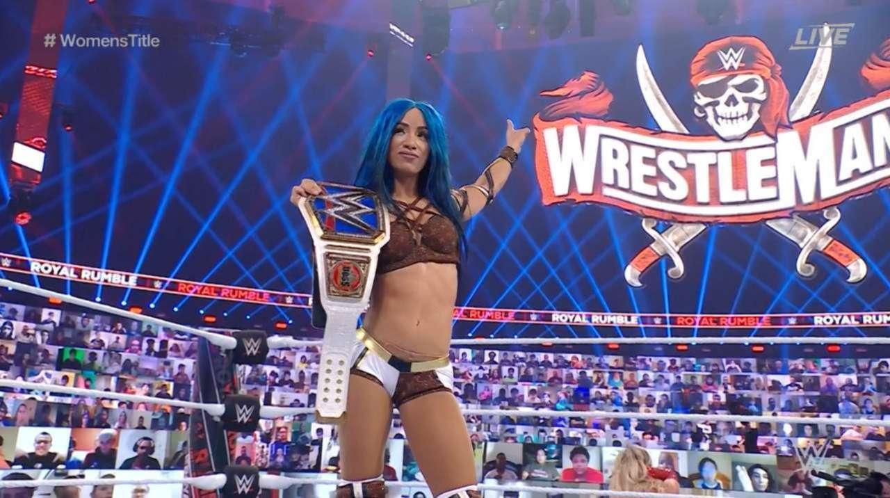 Sasha Banks Retains SmackDown Women's Championship At Royal Rumble