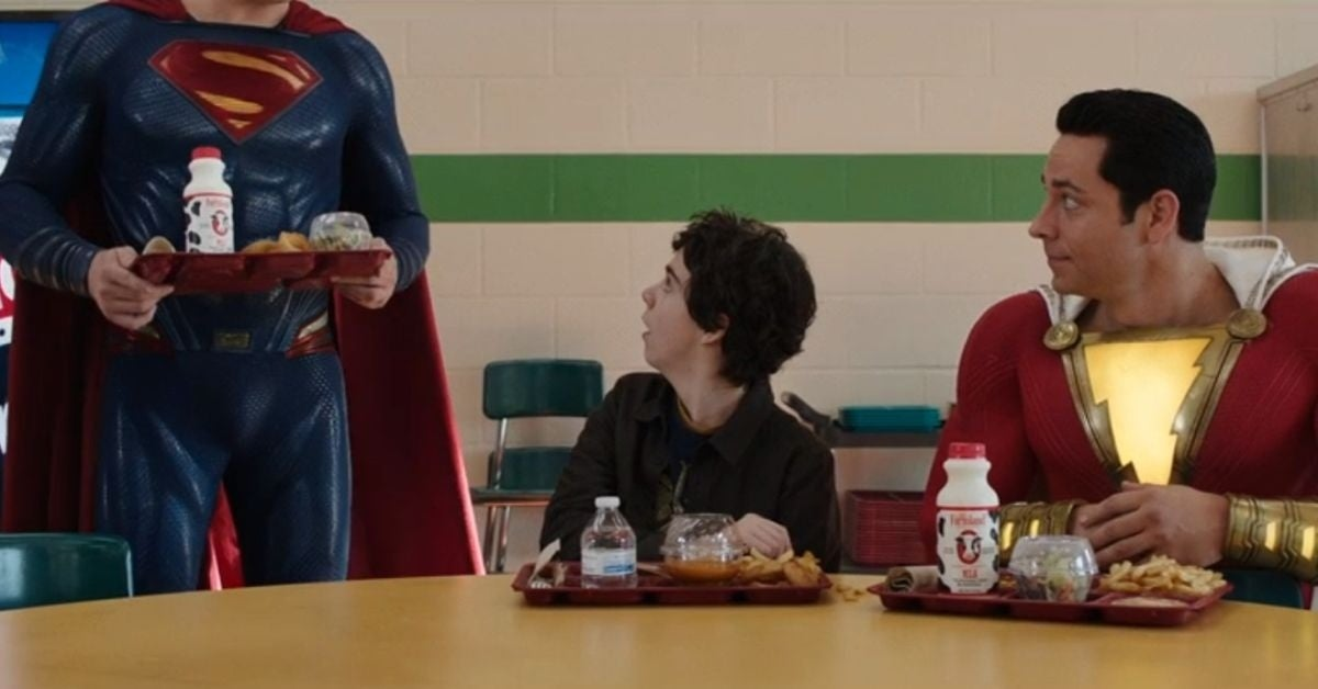 shazam superman cameo