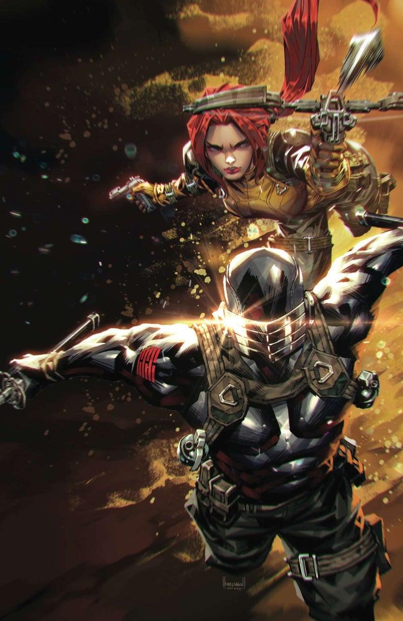 Snake Eyes Deadgame #4 - Unknown Comics Exclusive B - Art by Kael Ngu