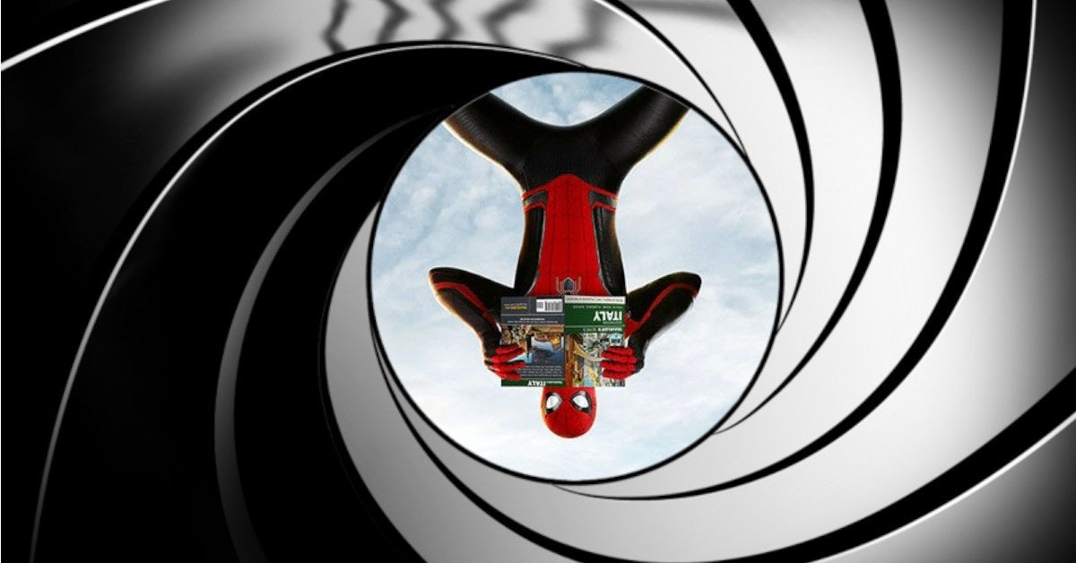 spider-man james bond tom holland
