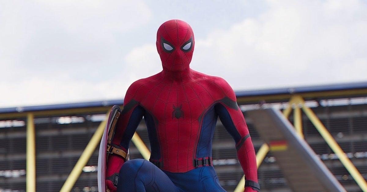 Spider-Man Tom Holland Marvel Captain America Civil War