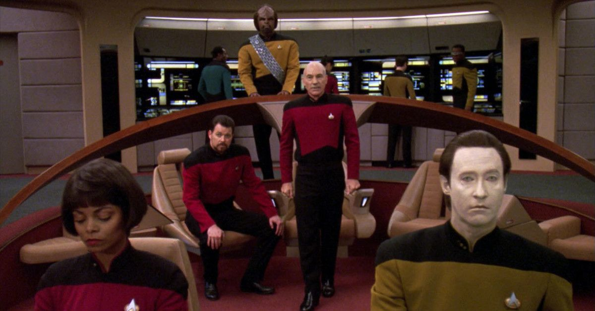 Star Trek The Next Generation Shadows Have Offended