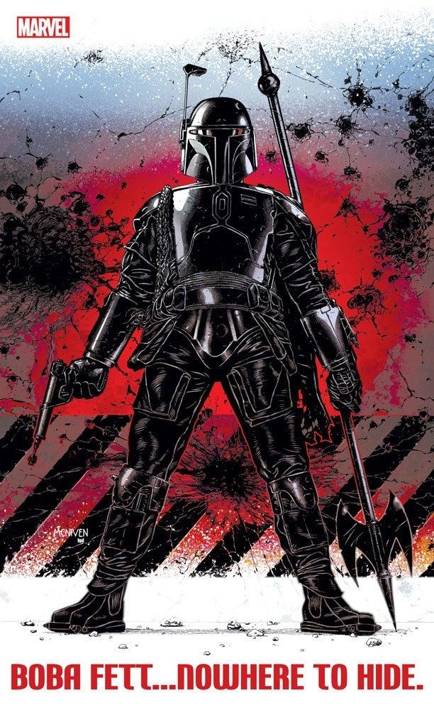 Star Wars Boba Fett Marvel Comics Series Nowhere to Hide