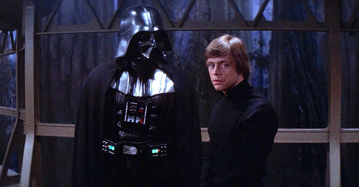 Star Wars Explains Why Vader Saves Luke Return Jedi