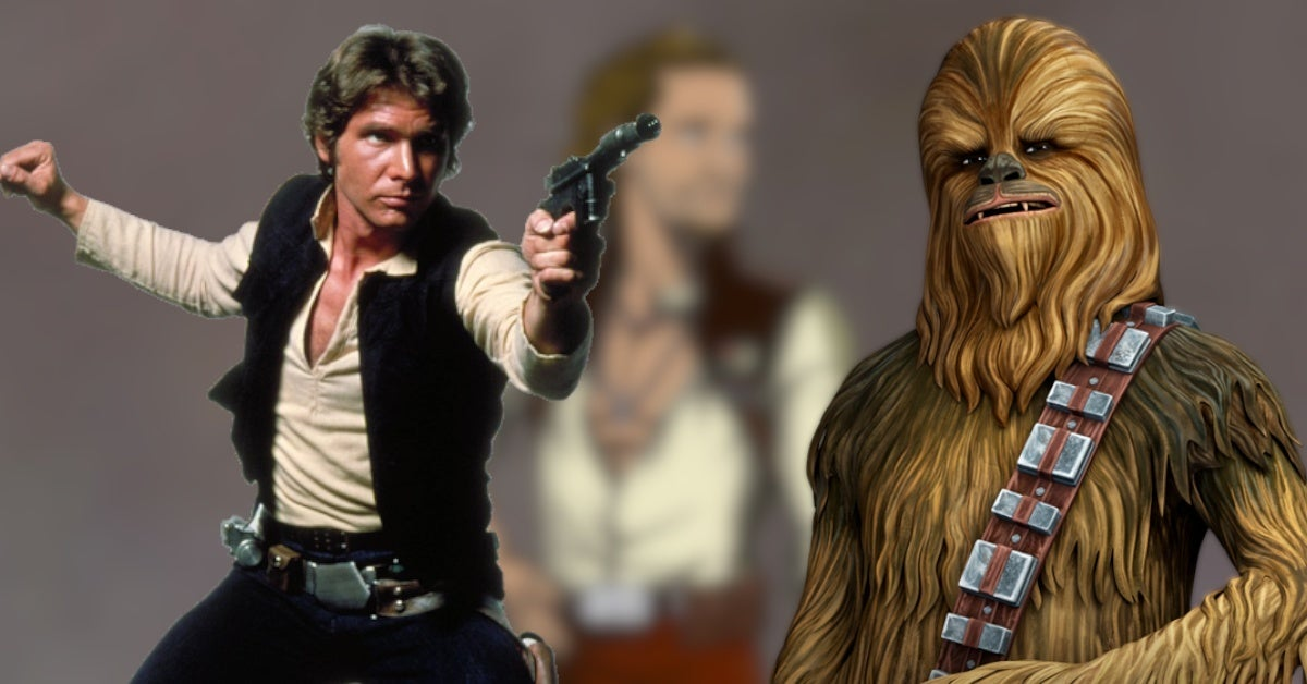 Star Wars High Republic Leox Gyasi Geode Han Solo Chewbacca Connections