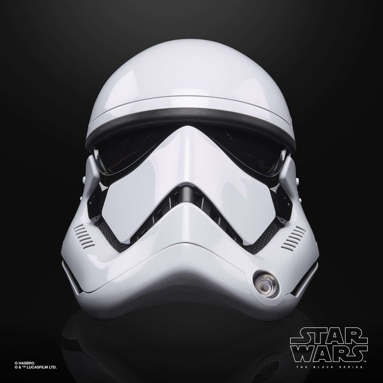 STAR WARS THE BLACK SERIES FIRST ORDER STORMTROOPER ELECTRONIC HELMET - oop (2)
