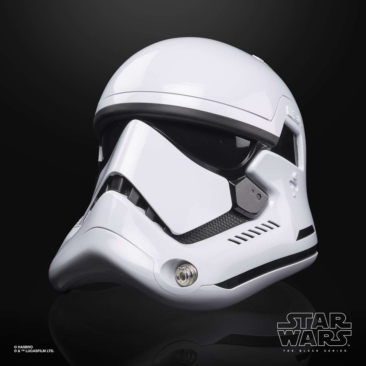 STAR WARS THE BLACK SERIES FIRST ORDER STORMTROOPER ELECTRONIC HELMET - oop (4)
