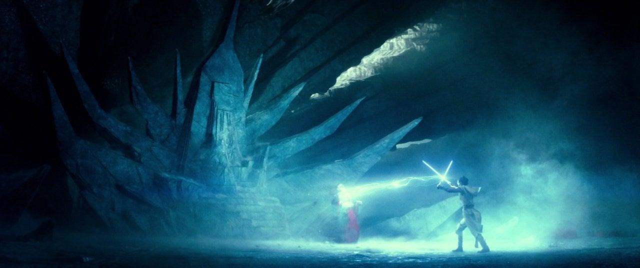 star wars the rise of skywalker rey palpatine fight