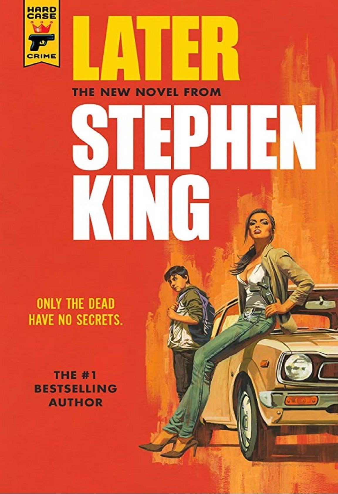 stephen king later novel cover