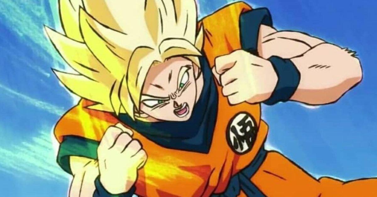Super Saiyan Goku Dragon Ball Super