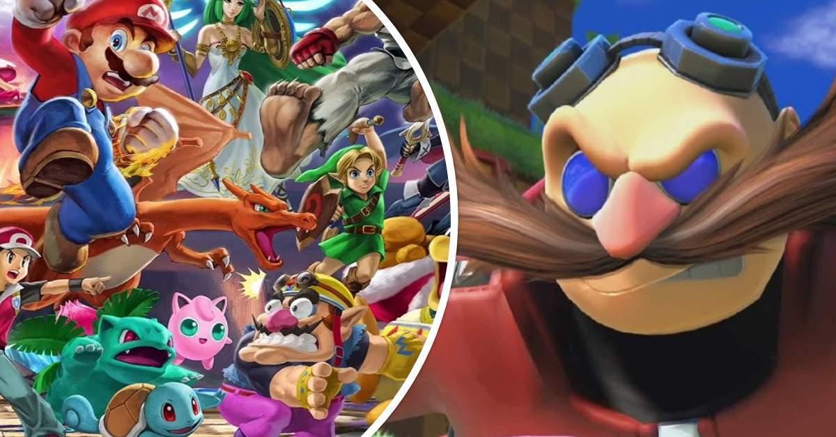 Super Smash Bros Eggman