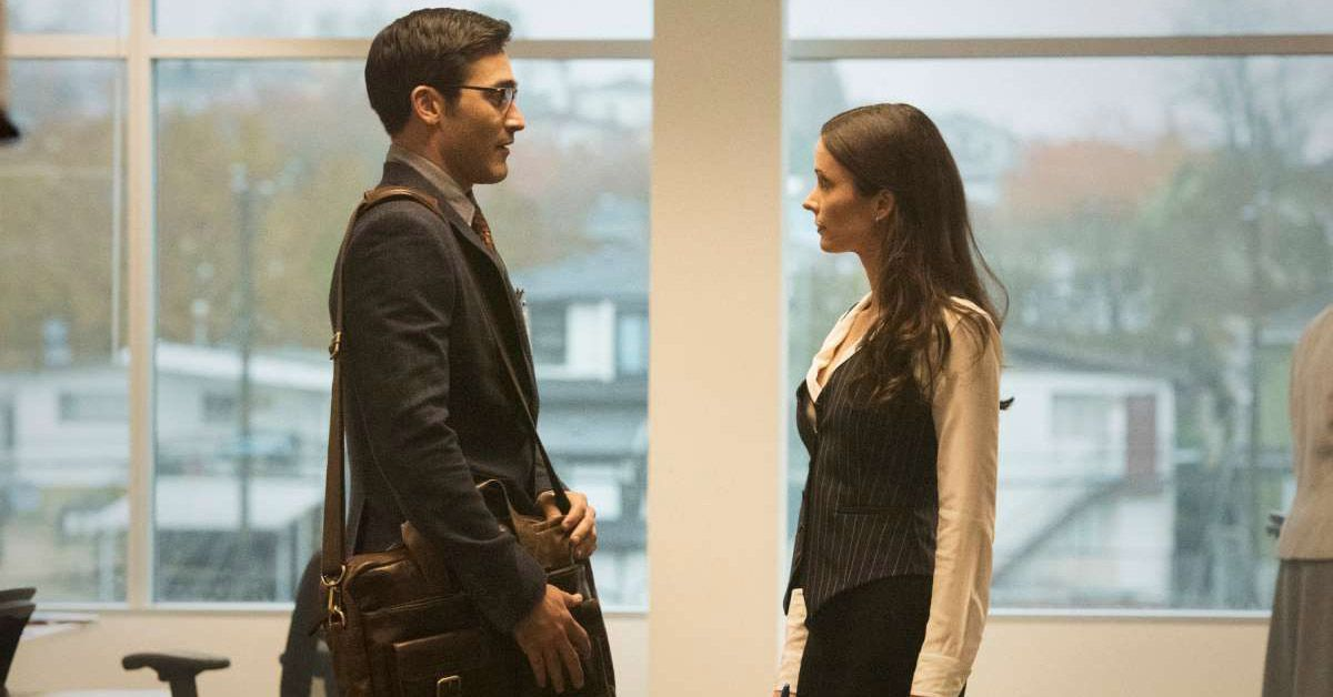 superman and lois meeting the cw