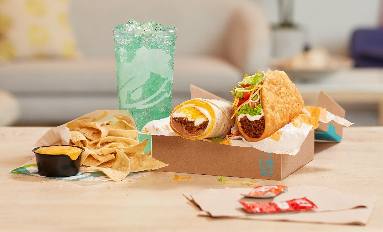 Taco Bell Build Your Own Cravings Box - 2