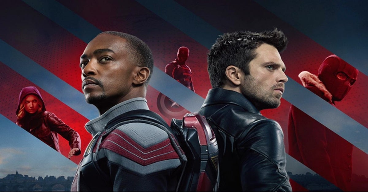 The Falcon and the Winter Soldier banner Disney+