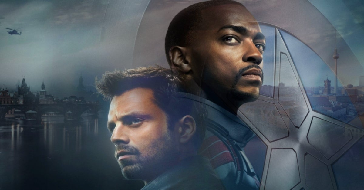 The Falcon and the Winter Soldier Sam and Bucky