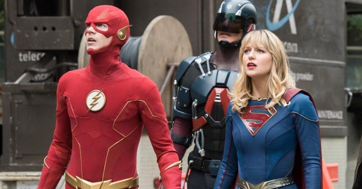 the flash supergirl