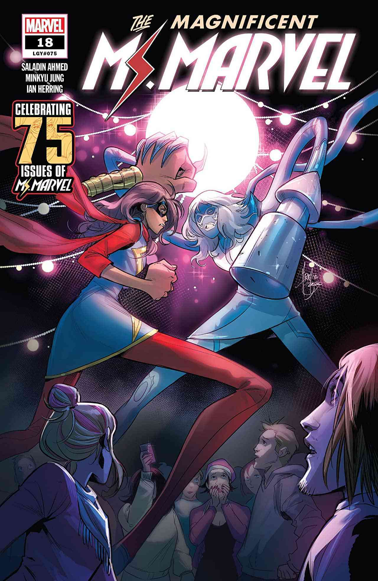 The Magnificent Ms Marvel #18